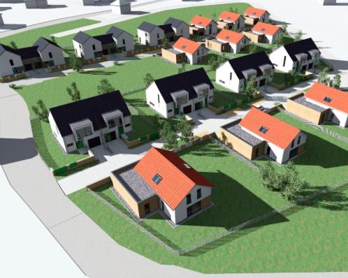 16 rodinných domů Zruč u Plzně - 5.500.000 až 7.500.000