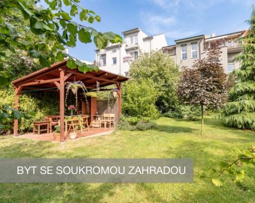 Byt se zahradou v Plzni - 3.550.000